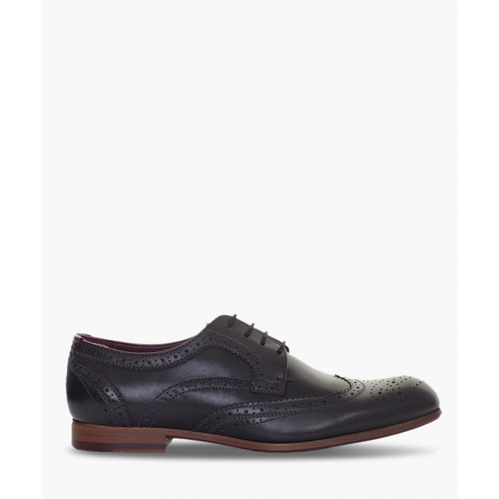 Image for Black leather brogues