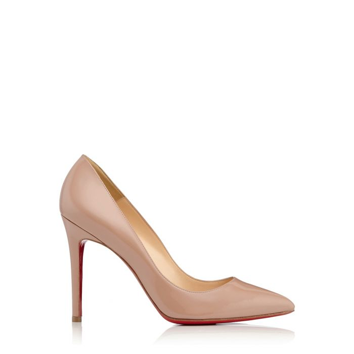 Image for Pigalle nude patent leather heels