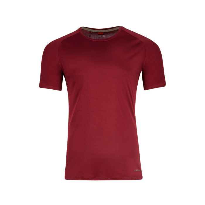 Image for Vapodri shiraz red slim fit T-shirt