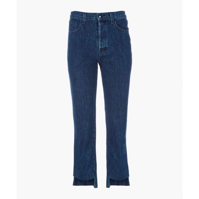 Image for Wynne high-rise crop straight jeans