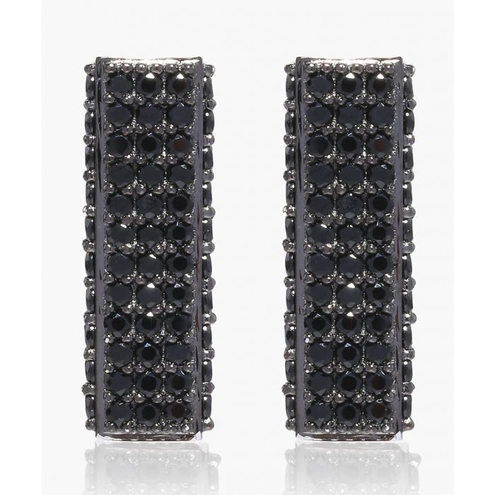 Image for Bacoli Piccolo black earrings