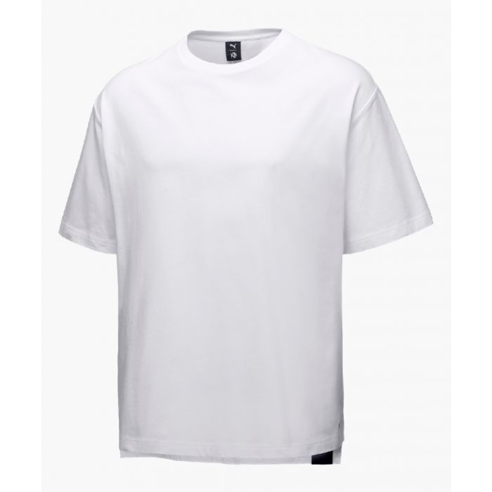 Image for White pure cotton t-shirt