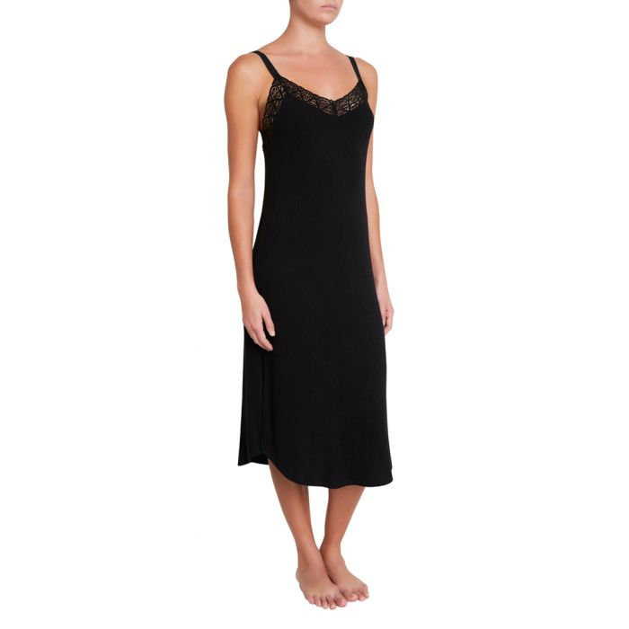 Image for Kaia black nightdress