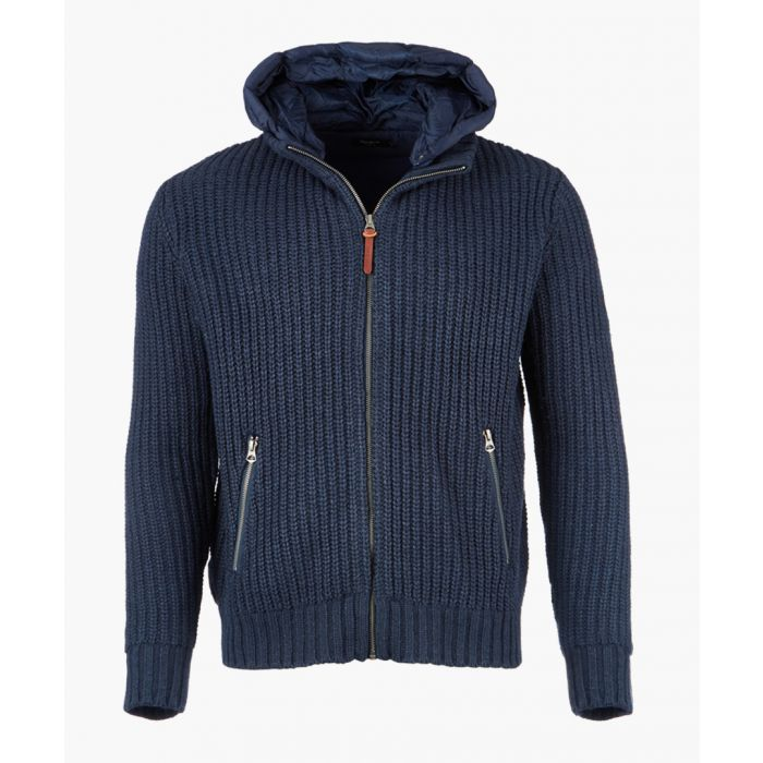 Image for Deep sea zip-up knit