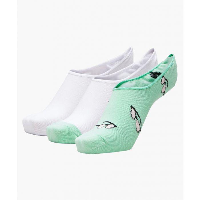 Image for 3pc Neputune Green socks set