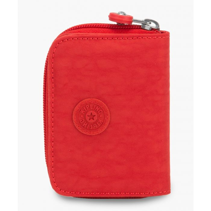 Image for Top red zip-around wallet