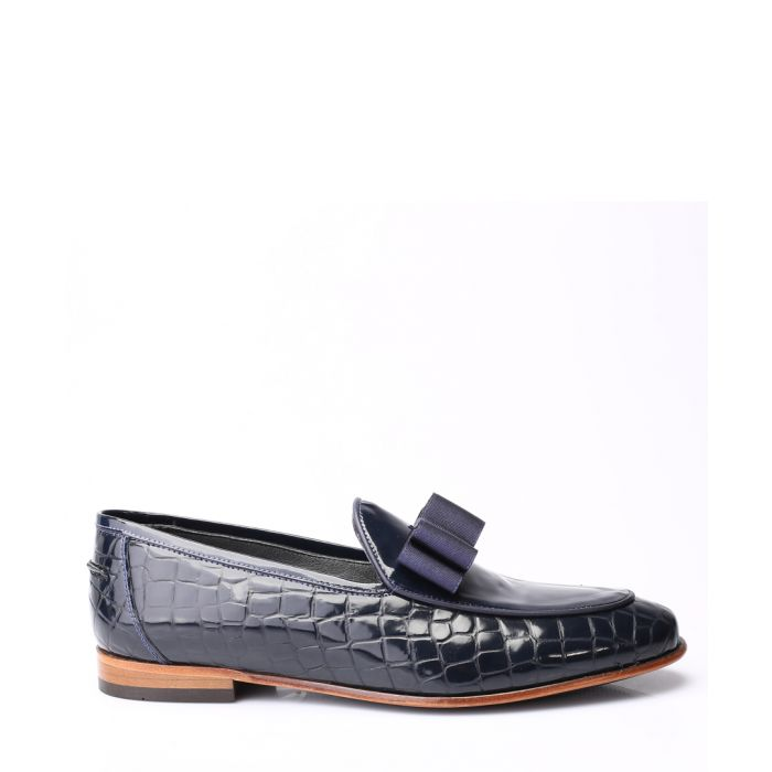 Image for Men's blue loafers