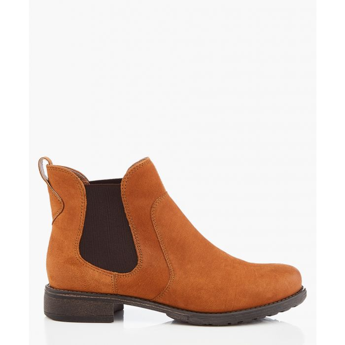Image for Tan leather chelsea boots