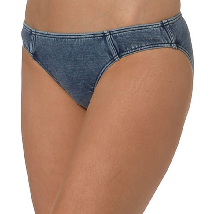 Image for Deja Blue cotton hipster bikini briefs