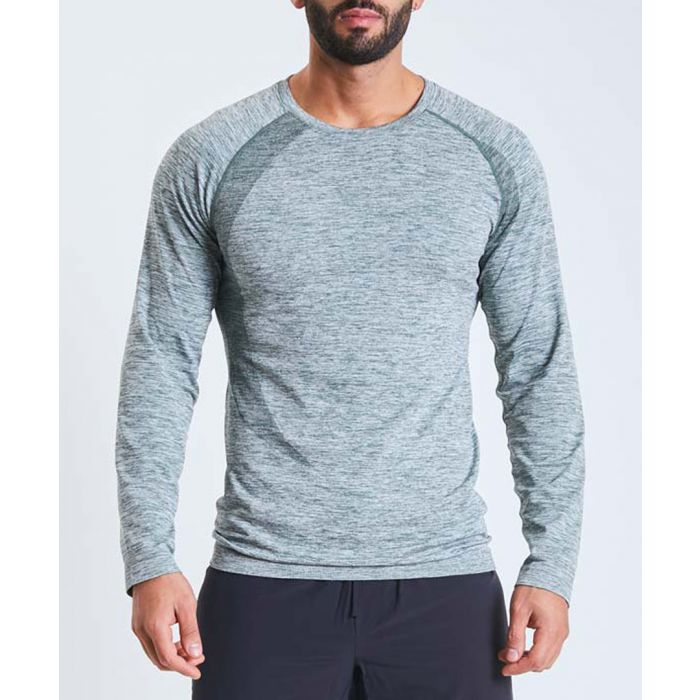 Image for Orion sage marl long sleeve top