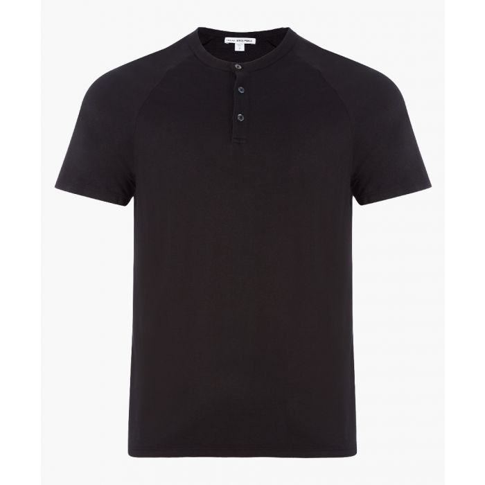 Image for Black pure cotton T-shirt