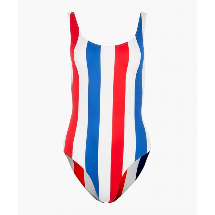 Image for Kelly americana stripe swimsuit