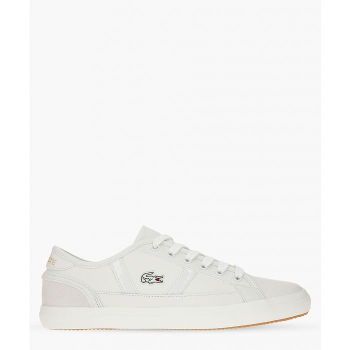 Image for Sideline 119 white leather sneakers