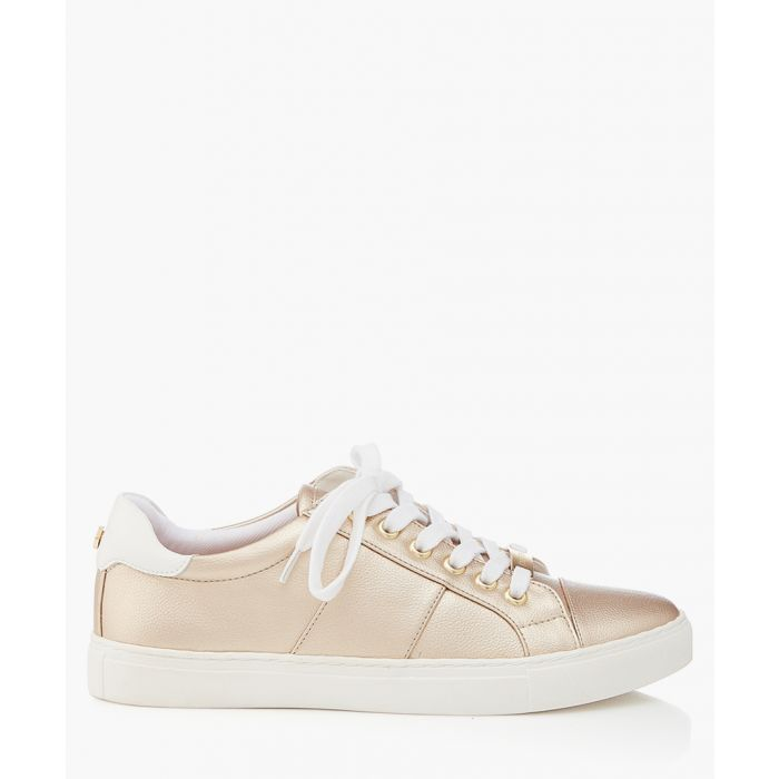 Image for Gold-tone sneakers