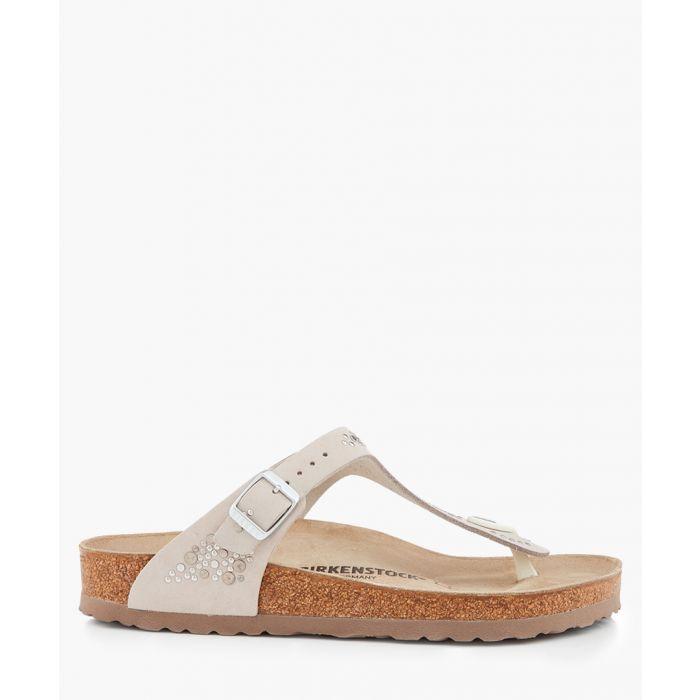 Image for Gizeh beige regular-fit sandals
