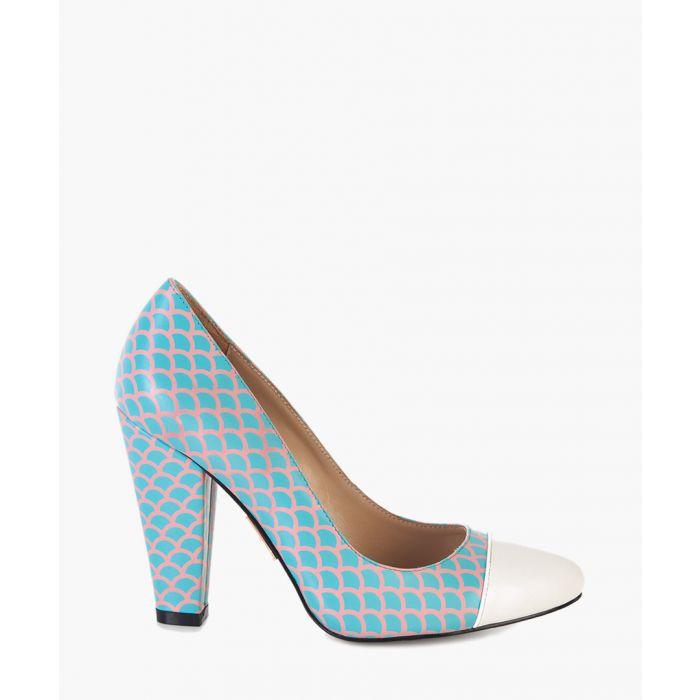 Image for Beaulieu Fishscale leather heels