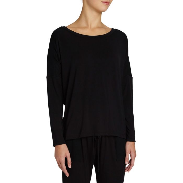 Image for Purdy black long sleeve top