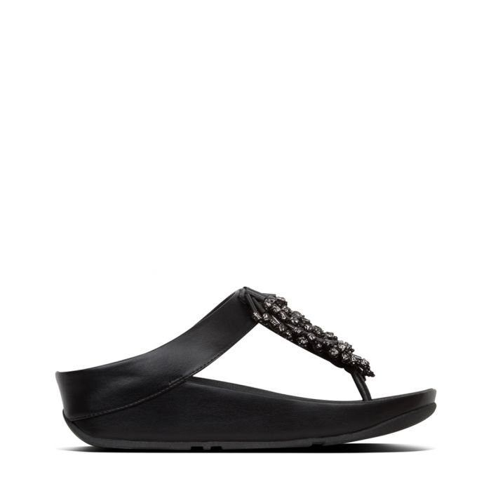 Image for Calypso Treasure black slip-ons
