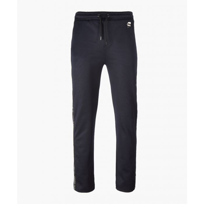Image for Navy drawstring trousers
