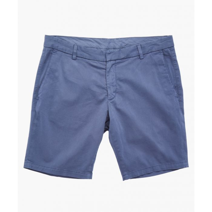 Image for Blue cotton shorts