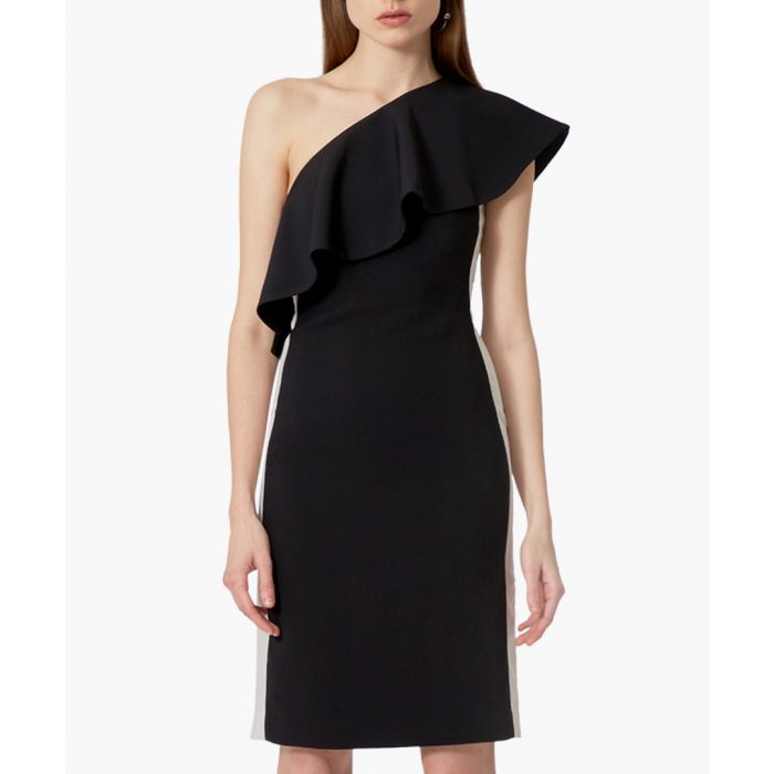 Image for Andes black one-shoulder dress