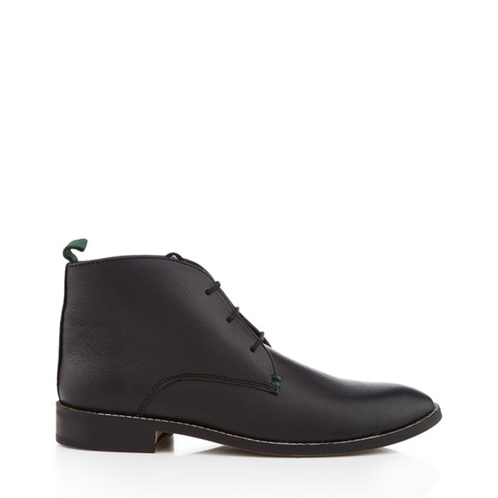 Image for Hadley black lace-up ankle boots