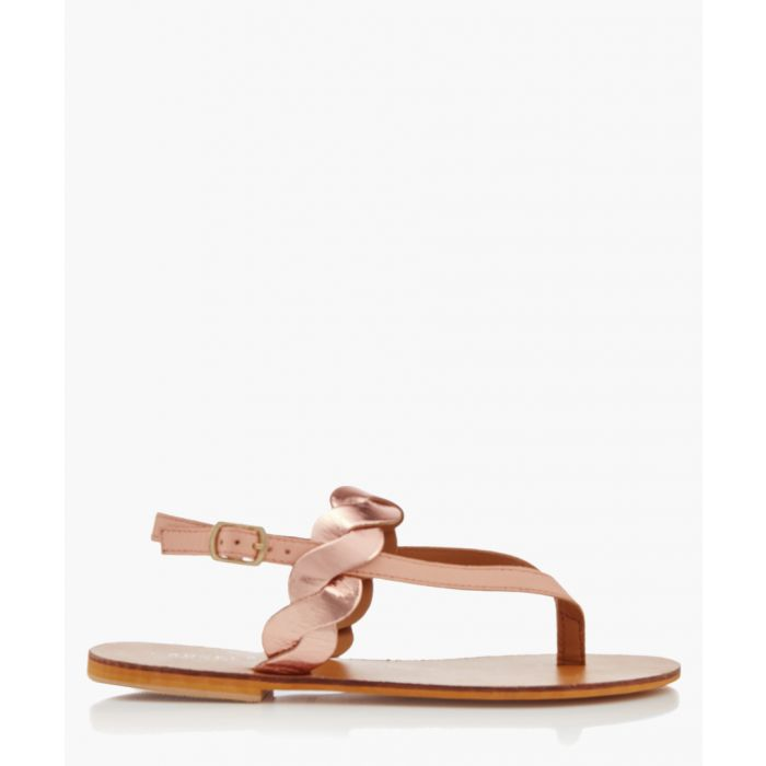 Image for Aim nude braided sandals