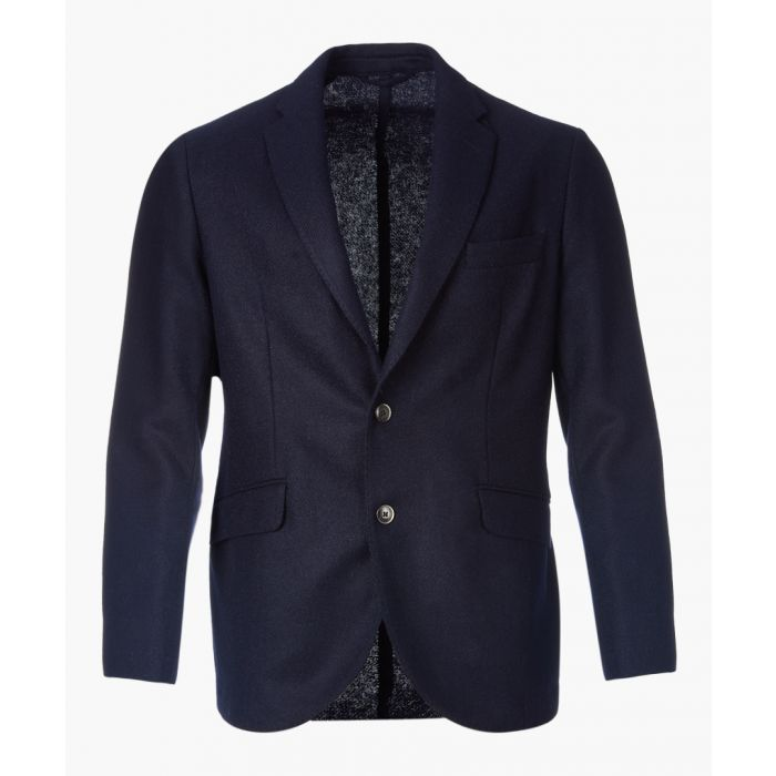 Image for Navy two-button jacket