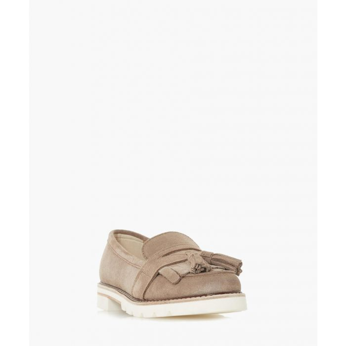 Image for Gennaa stone suede loafers