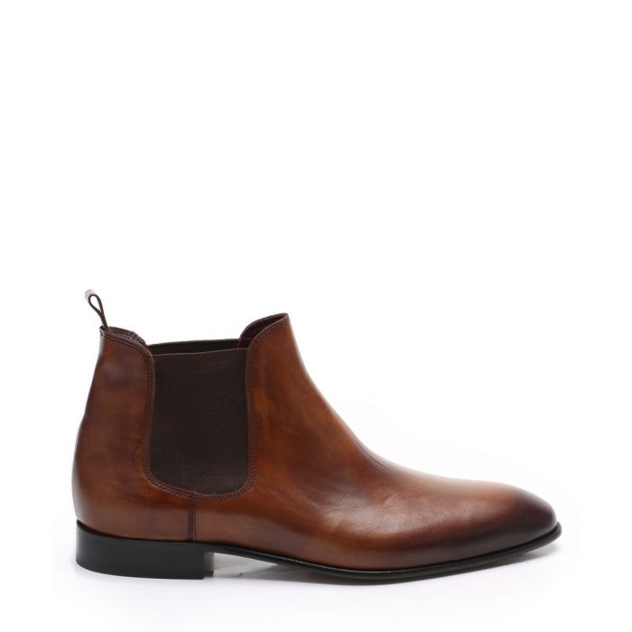 Image for Walnut leather Chelsea boots