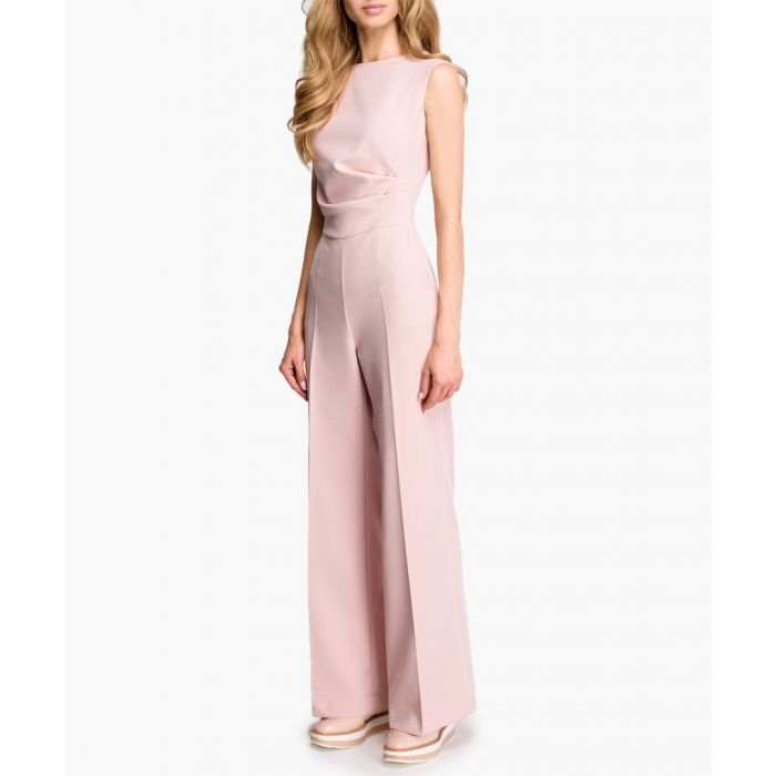 Image for Rose wide-leg sleeveless jumpsuit