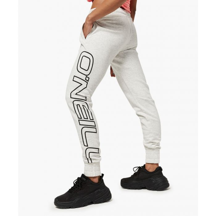 Image for Essentials white logo joggers