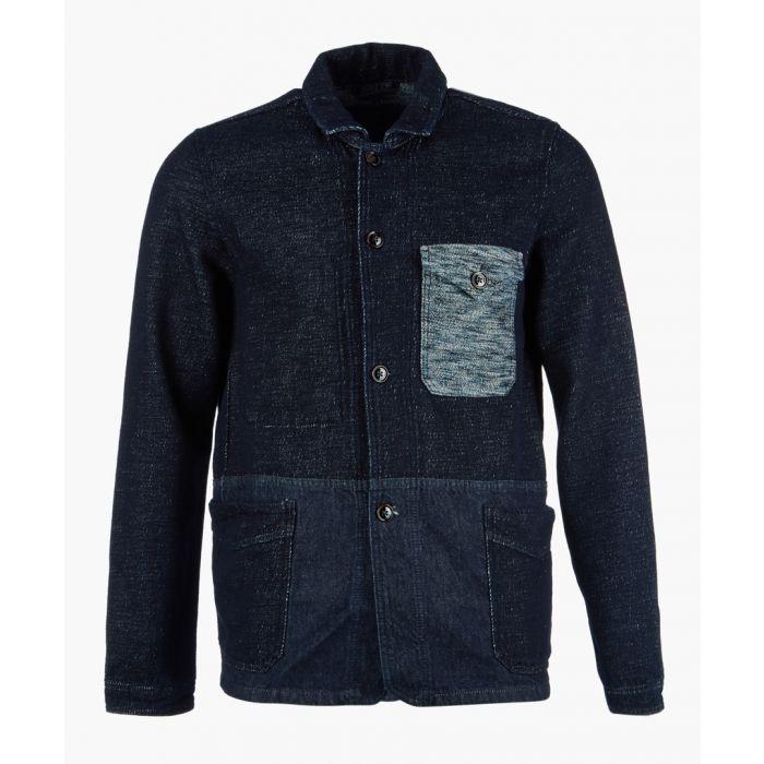 Image for Denim button-up jacket