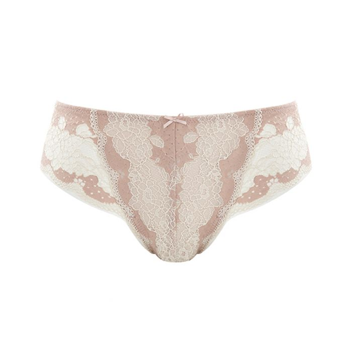 Image for Clara ivory lace briefs