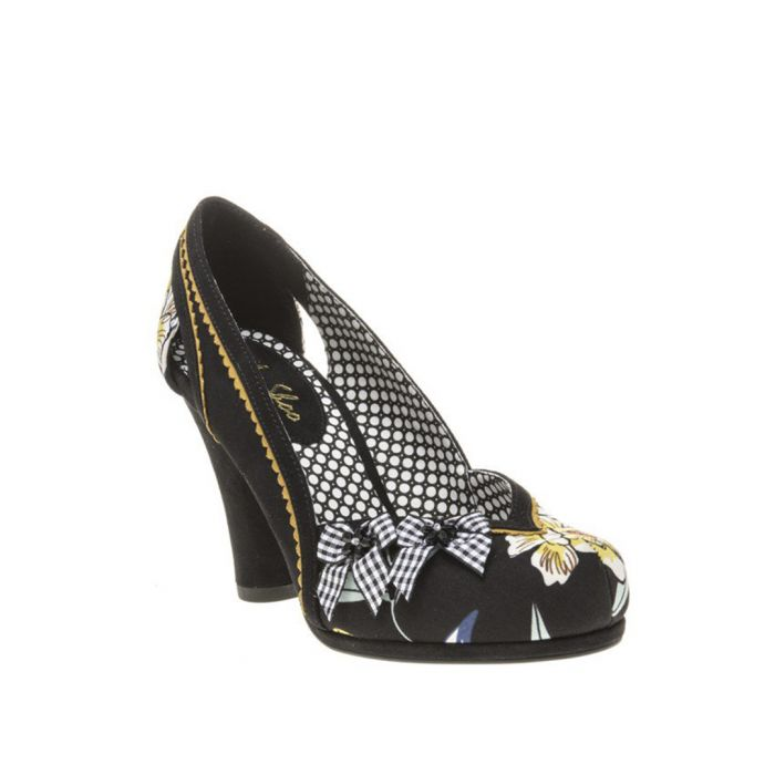 Image for Livia floral high heel shoe