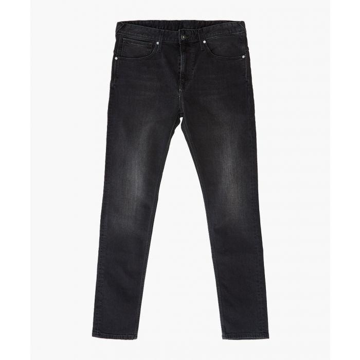 Image for Nickel denim black skinny fit jeans