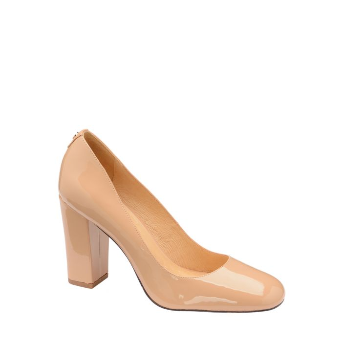 Image for Nude patent court heels