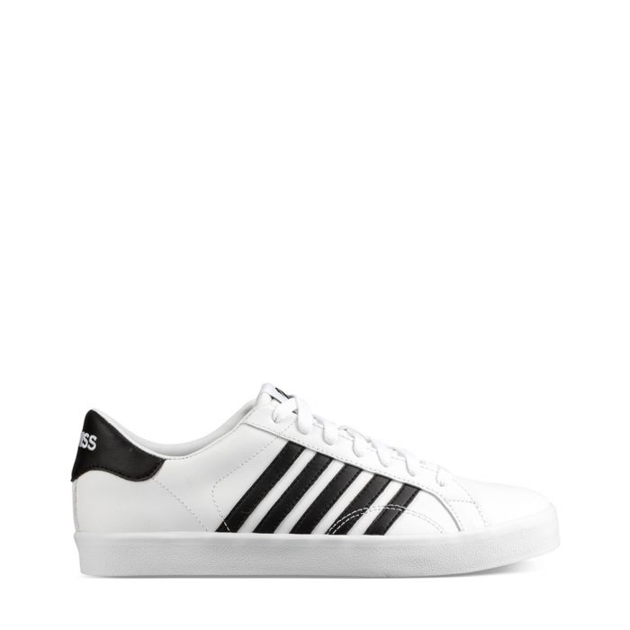 Image for Belmont So white and black trainers