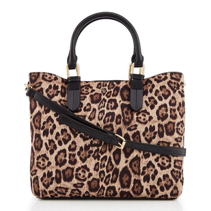 Image for Eleanor leopard print grab bag