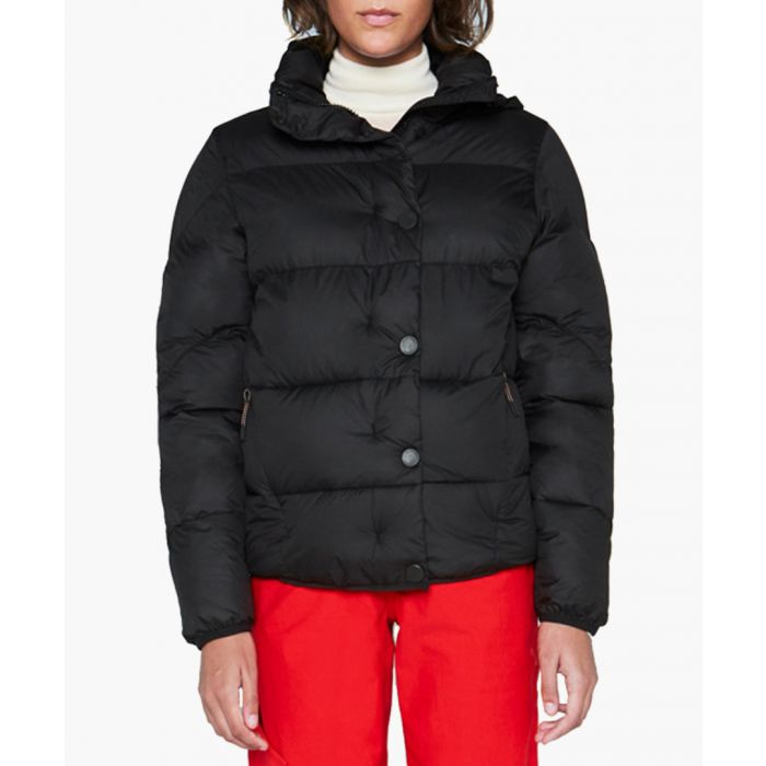 Image for Women's Original black button puffer jacket