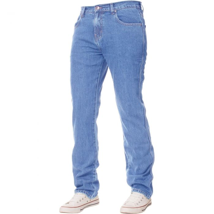 Image for Basic regular light blue jeans