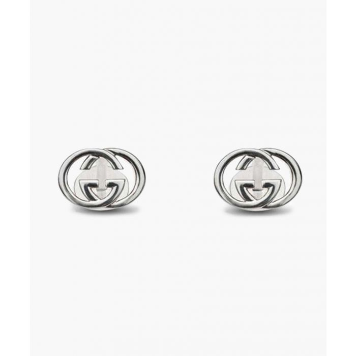 Image for Sterling silver logo studs