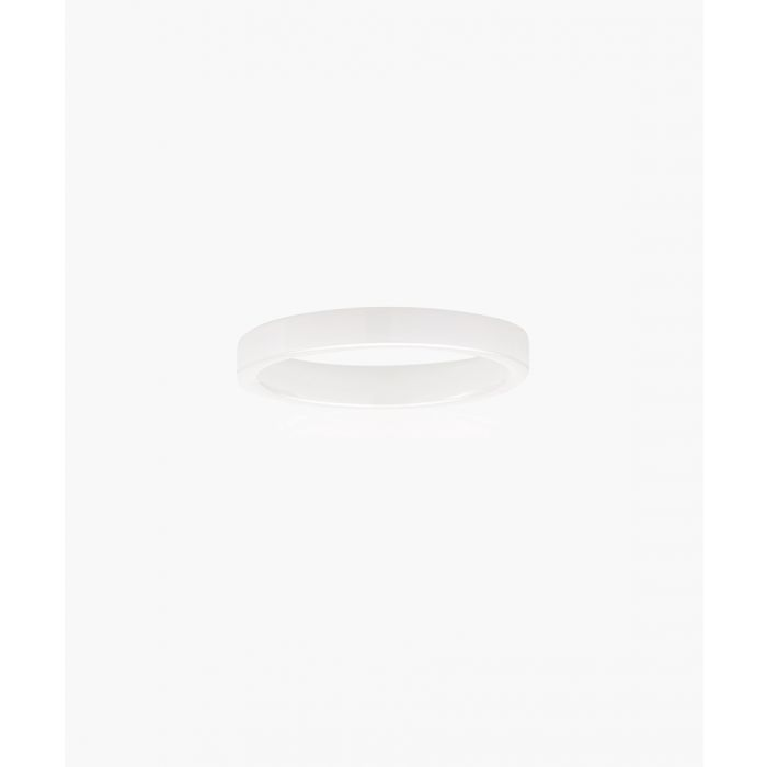 Image for Corte white ceramic ring