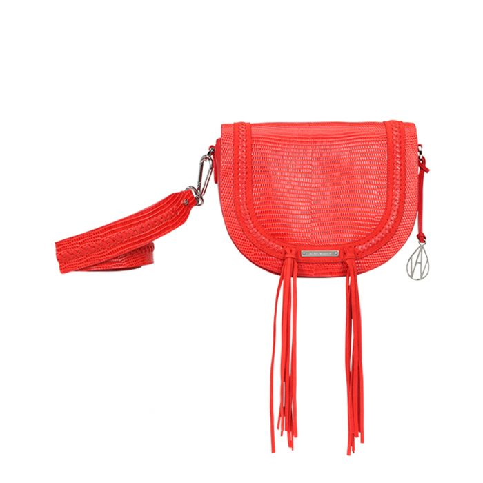 Image for The Murphy papaya leather crossbody