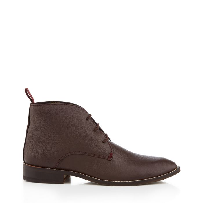 Image for Hadley brown lace-up ankle boots