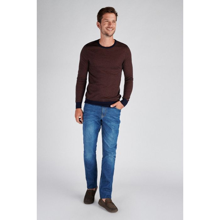 Image for Men s Casual Fit Knitted Sweater