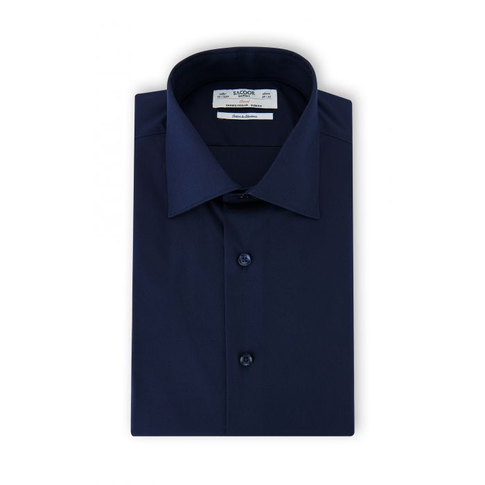 Image for Men s Classic Slim Fit Travel Shirt