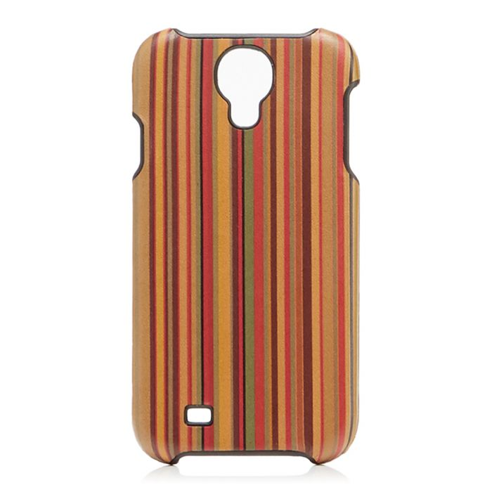 Image for Multi-coloured striped Samsung 4 case