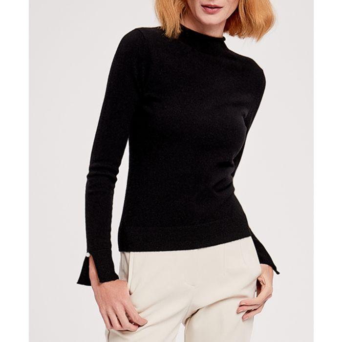 Image for Black pure cashmere jumper
