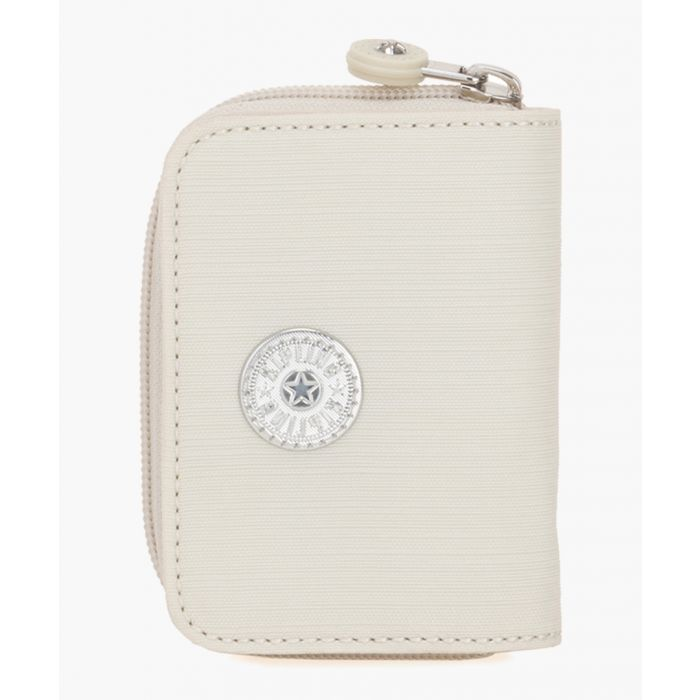 Image for White zip-around wallet